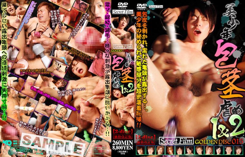 Secret Film – Secret Film GOLDEN DISC 015-美少年包茎虐め1&2-(DVD2枚組)