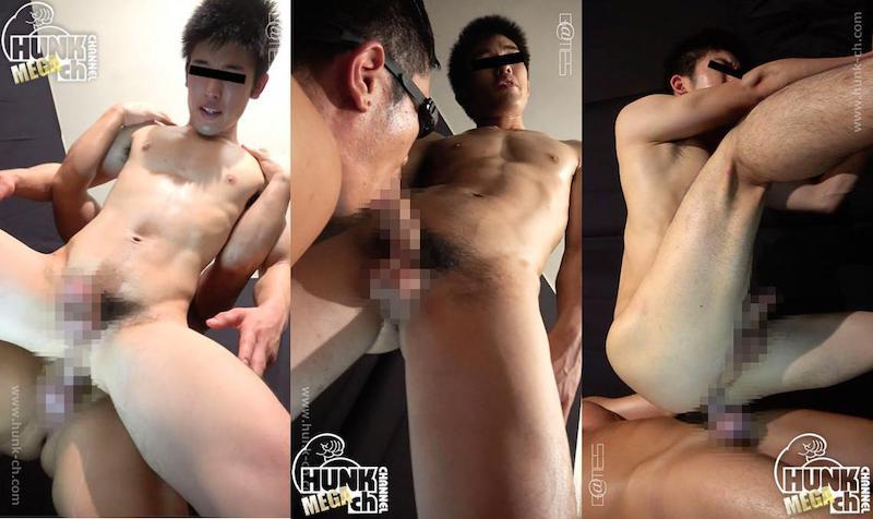 HUNK CHANNEL – SKT12001 – 凄筋人~最終章(Finally)~、競パン超感覚FUCK!!!弘司(ひろし)くん21歳!!アーチ型の極太チンコが快感に震える!!!