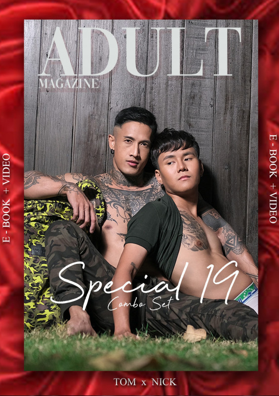 Adult magazine Special No.19 – Tom x Nick