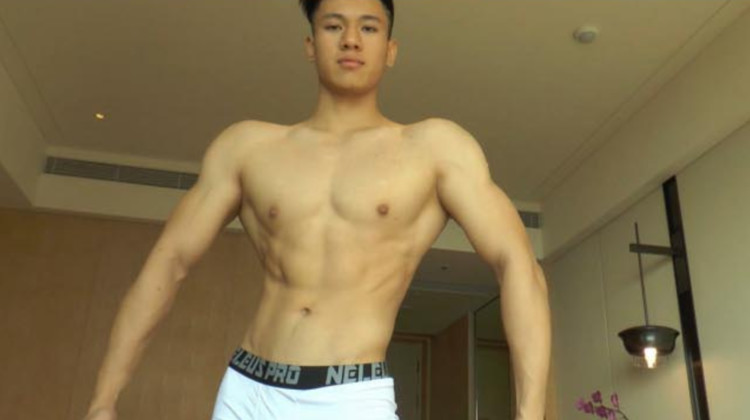 Chinese maleshow – Live Broadcast – Muscle Model Private Shot 肌肉男模私拍