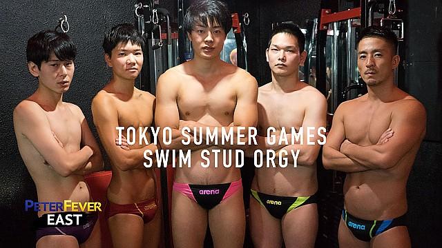 PeterFever – Tokyo Summer Games: Swim Stud Orgy