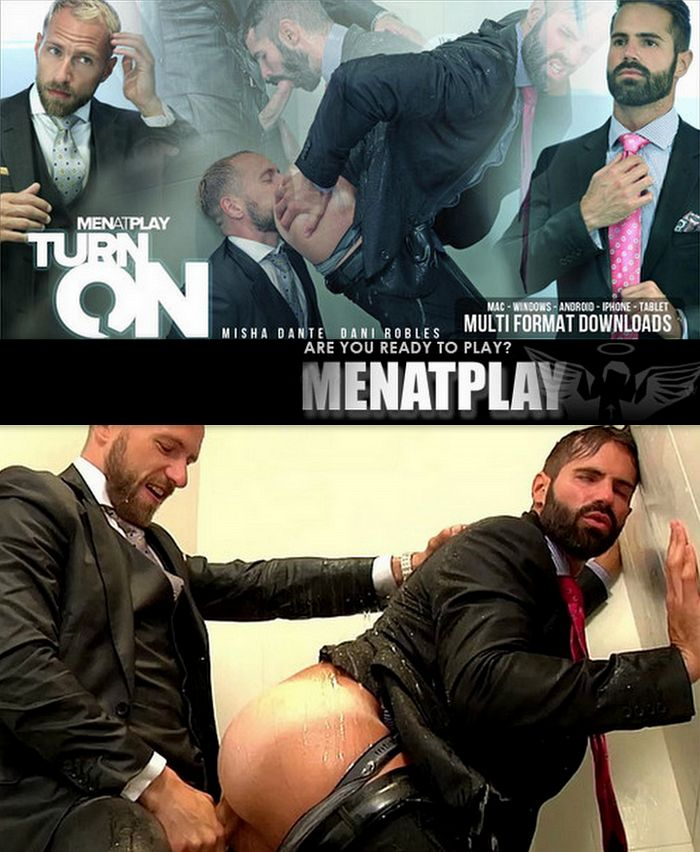 MenAtPlay – Turn On – Dani Robles and Misha Dante
