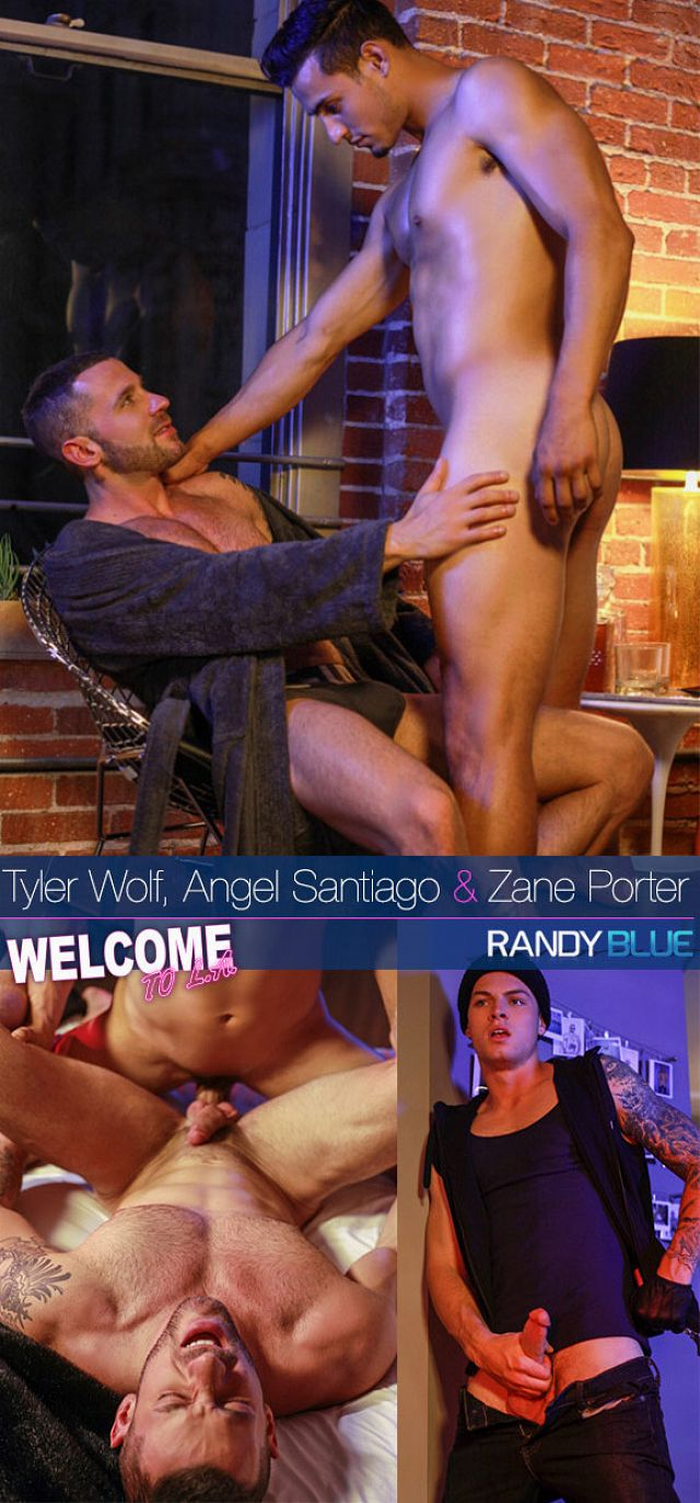 "RandyBlue – Tyler Wolf, Angel Santiago and Zane Porter in ""Welcome to L.A., Ep. 6 (Downtown)"""