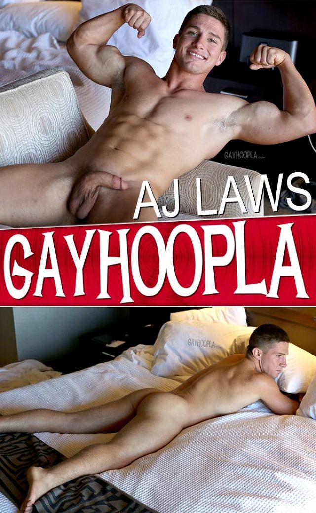 GayHoopla – Ajay Laws (Hard Muscled Ass)