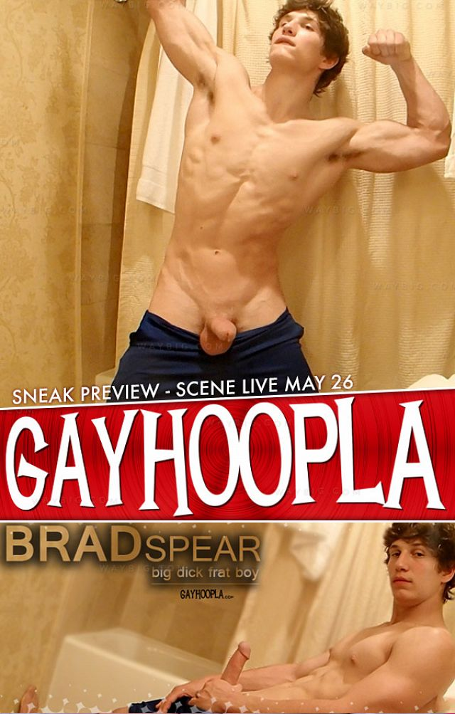 GayHoopla – Brad Spear (Big Dicked Frat Boy)