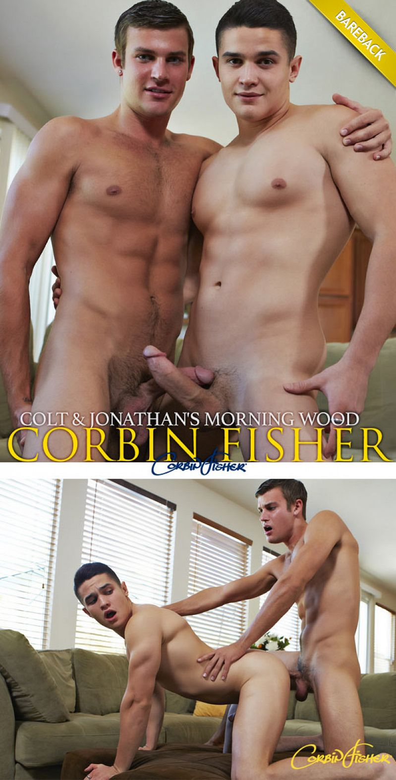 CorbinFisher – Colt & Jonathan's Morning Wood (Bareback)