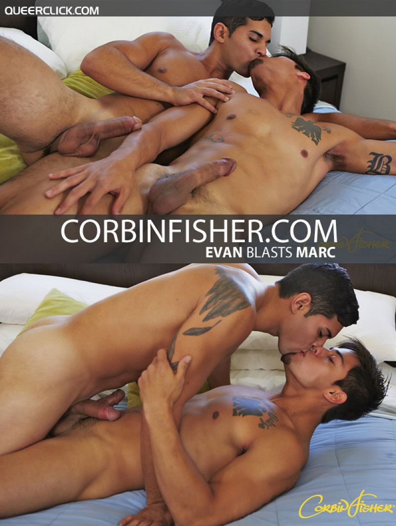 CorbinFisher – Evan Blasts Marc