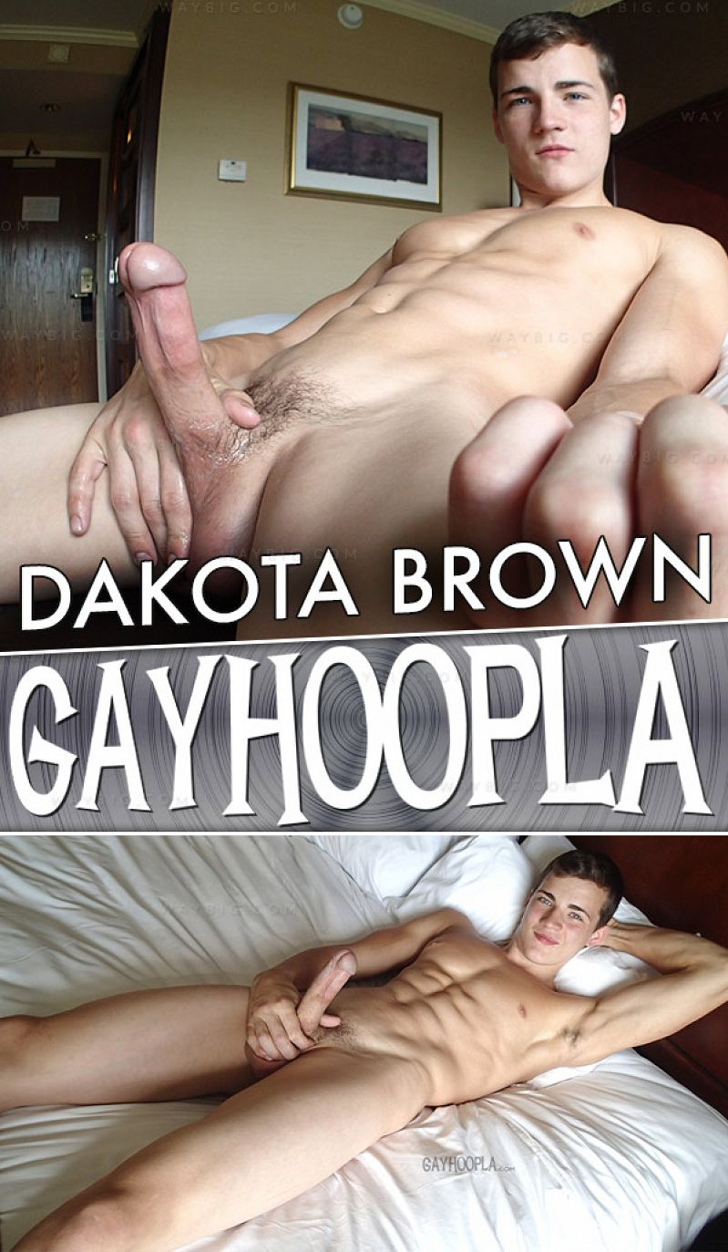 GayHoopla – Dakota Brown (New Handsome Stud)