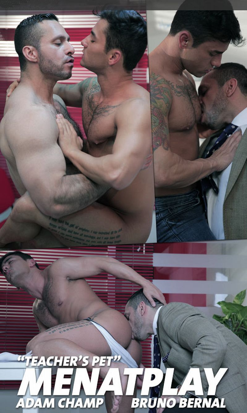 MenAtPlay – Teacher's Pet – Adam Champ & Bruno Bernal