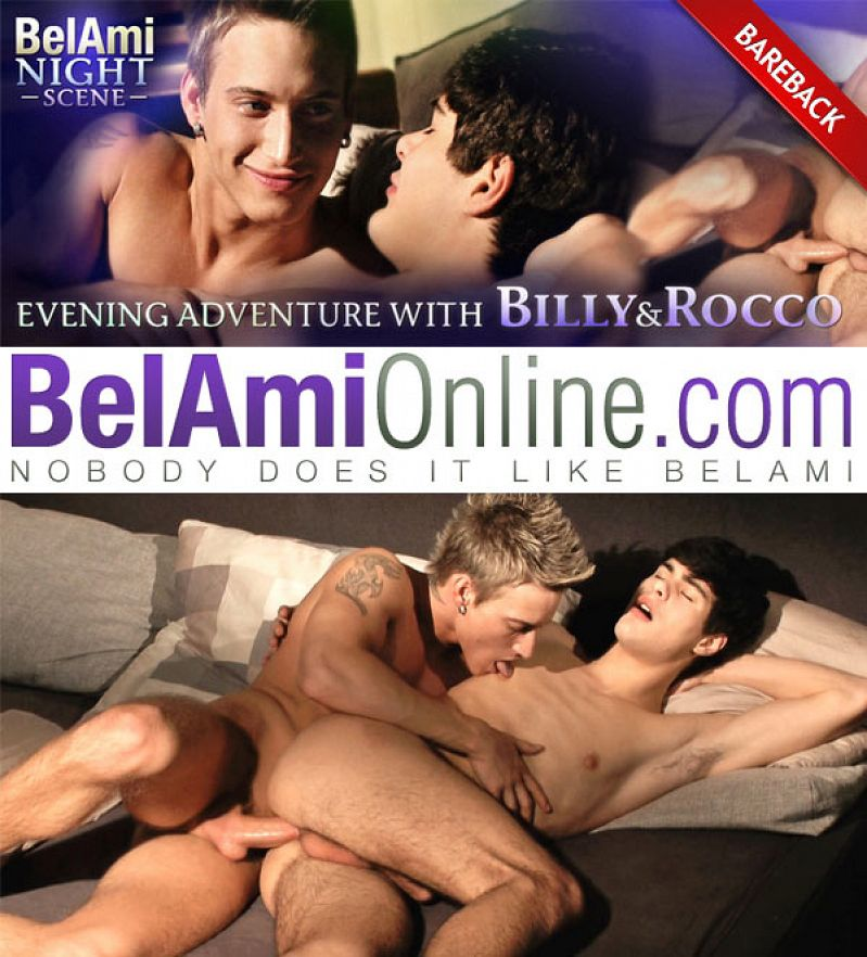 BelAmiOnline – Evening Adventure (Rocco Alfieri & Billy Cotton) (Bareback Night Scene)
